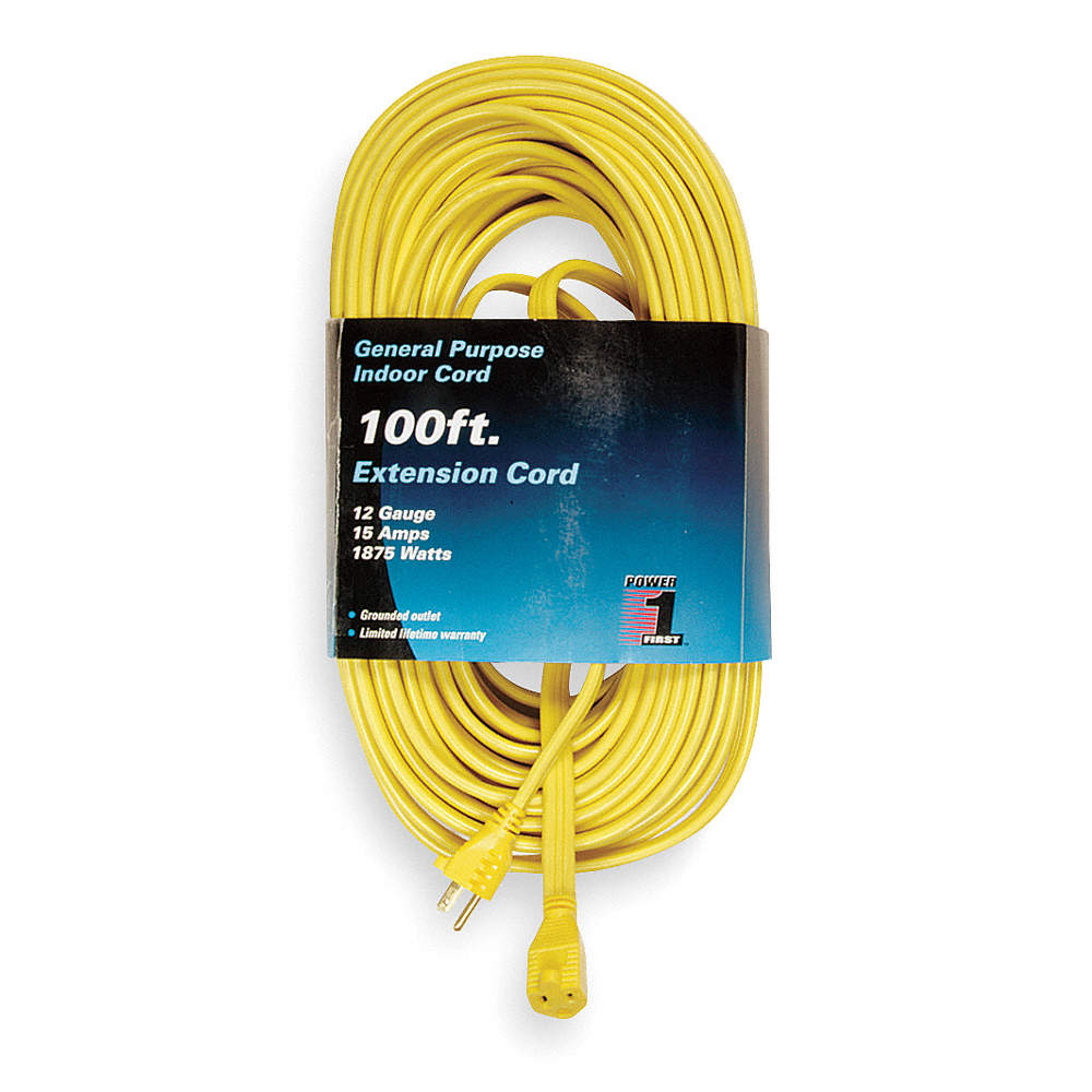 Power First 100 Ft Indoor Extension Cord Max Amps 150 Number Of Wiring To Outlet Zoom Out Reset Put Photo At Full Then Double Click