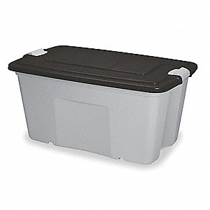 Storage Tote,20-1/2 In. H,39-1/2 In. L