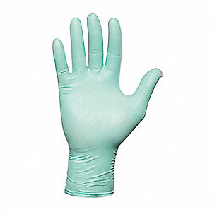 Disp. Gloves,Neoprene,XS,Green,PK100