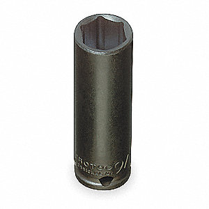 Impact Socket,3/8 In Dr,13/16 In,6 pt