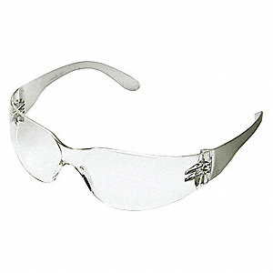 Condor™ V Anti-Fog Safety Glasses, Clear Lens Color