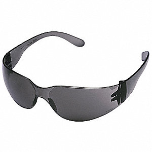 Condor  V Scratch-Resistant Safety Glasses, Gray Lens Color