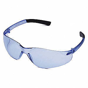 Wasko  Scratch-Resistant Safety Glasses, Light Blue Lens Color