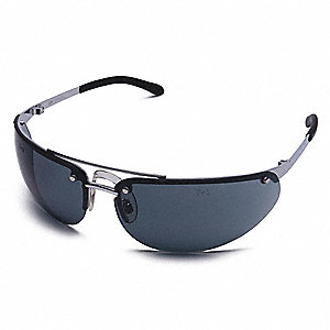 ProFlyer™ Scratch-Resistant Safety Glasses, Gray Lens Color