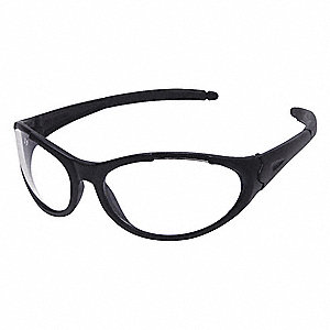 Freeze  II Scratch-Resistant Safety Glasses, Clear Lens Color
