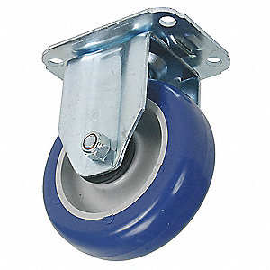 "5"" Plate Caster, 220 lb. Load Rating"