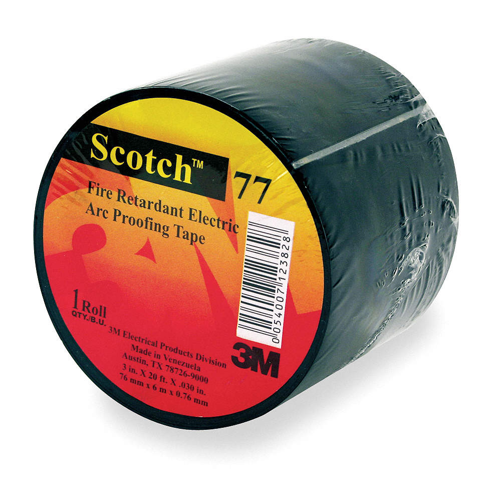 Electrical Tape, No Adhesive Tape Adhesive, 30 00 mil Thick, 1-1/2