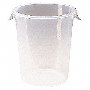 Round Storage Container,12 qt