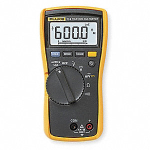 FLUKE (R) Fluke-114 Compact - Basic Features Digital Multimeter