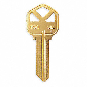 KEY BLANK,BRASS,TYPE 1176,5 PIN,PK