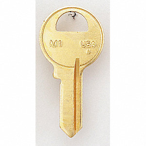 Key Blank,Brass,Type 1092,4 Pin,PK50