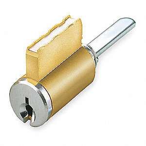 BRASS CYLINDER,CHROME,5 PIN,2 KEYS