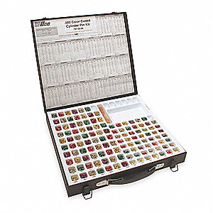 COMMERCIAL COLOR PIN KIT,STEEL