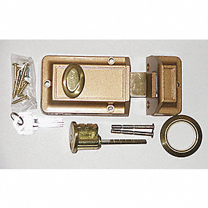 COMMERCIAL LOCK,SINGLE CYLINDER,BRO