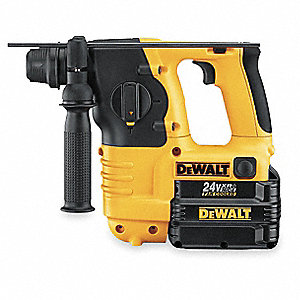 Cordless Rotary Hammer Drill Kit, 24.0 Voltage, 0 to 4100 Blows per Minute, Battery Included