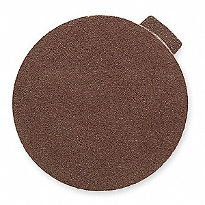 PSA Sanding Disc,AlO,Cloth,9in,100 Grit