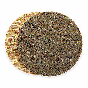 "7"" Non-Woven Hook-and-Loop Sanding Disc, Coarse Grade, Aluminum Oxide"