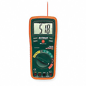 EXTECH (R) EX470 Full Size - Basic Features Digital Multimeter, -4° to 1382°F Temp. Range