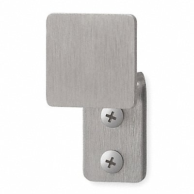 1GYA7 - Bathroom Hook 1 Hook 1-1/16In D Satin