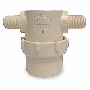 "50 Mesh Low Profile T-Line Strainer, 304 Microns, 1/4"" Pipe Size"