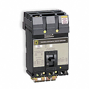 Circuit Breaker,  60 Amps,  Number of Poles:  3,  240VAC AC Voltage Rating