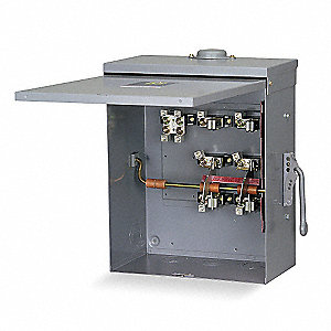 Safety Switch, 3R NEMA Enclosure Type, 200 Amps AC, 15 HP @ 480VAC HP