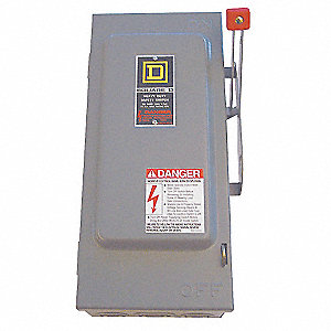 Safety Switch,600VAC,3PST,30 Amps AC