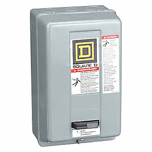 1H504_AS03?$mdmain$ square d magnetic motor starter, 120vac coil volts, nema size 1