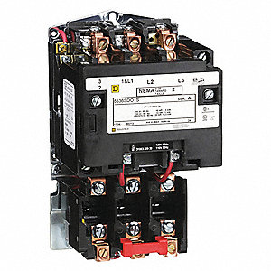 1H527_AS01?$mdmain$ square d magnetic motor starter, 120vac coil volts, nema size 2