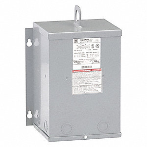 Single Phase Transformer, 120VAC, 240VAC Output, 240VAC, 480VAC Input