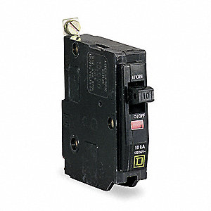 Bolt On Circuit Breaker,20A,1 Pole,QOB