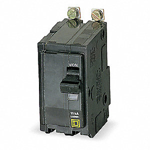 Bolt On Circuit Breaker, 90 Amps, Number of Poles:  2, 120/240VAC AC Voltage Rating