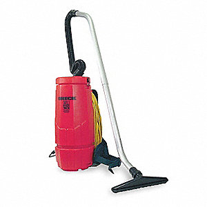 Backpack Vacuum Cleaner,10 qt.,3/4 HP,5A
