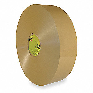 Polypropylene Carton Sealing Tape, Hot Melt Resin Adhesive, 72mm X 914m, 1 EA