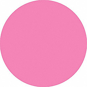 Inventory Control Label,  Blank,  Pink,  1 in Height,  1 in Width,  Paper,  PK 1000