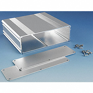 "Aluminum Enclosure, NEMA Rating: 4, 6.3"" x 6.69"" x 2.11"""