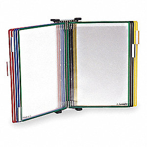 Document Wall Display,12 1/2Hx1/ 1/2L In