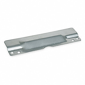 Door Latch Guard, Aluminum, 11 x 3 In.