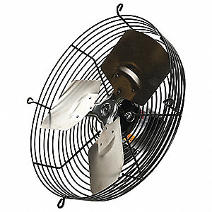 Exhaust Fan,12 In,115V,828 CFM