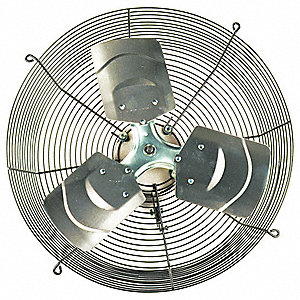 Exhaust Fan,18 In,115V,3896 CFM