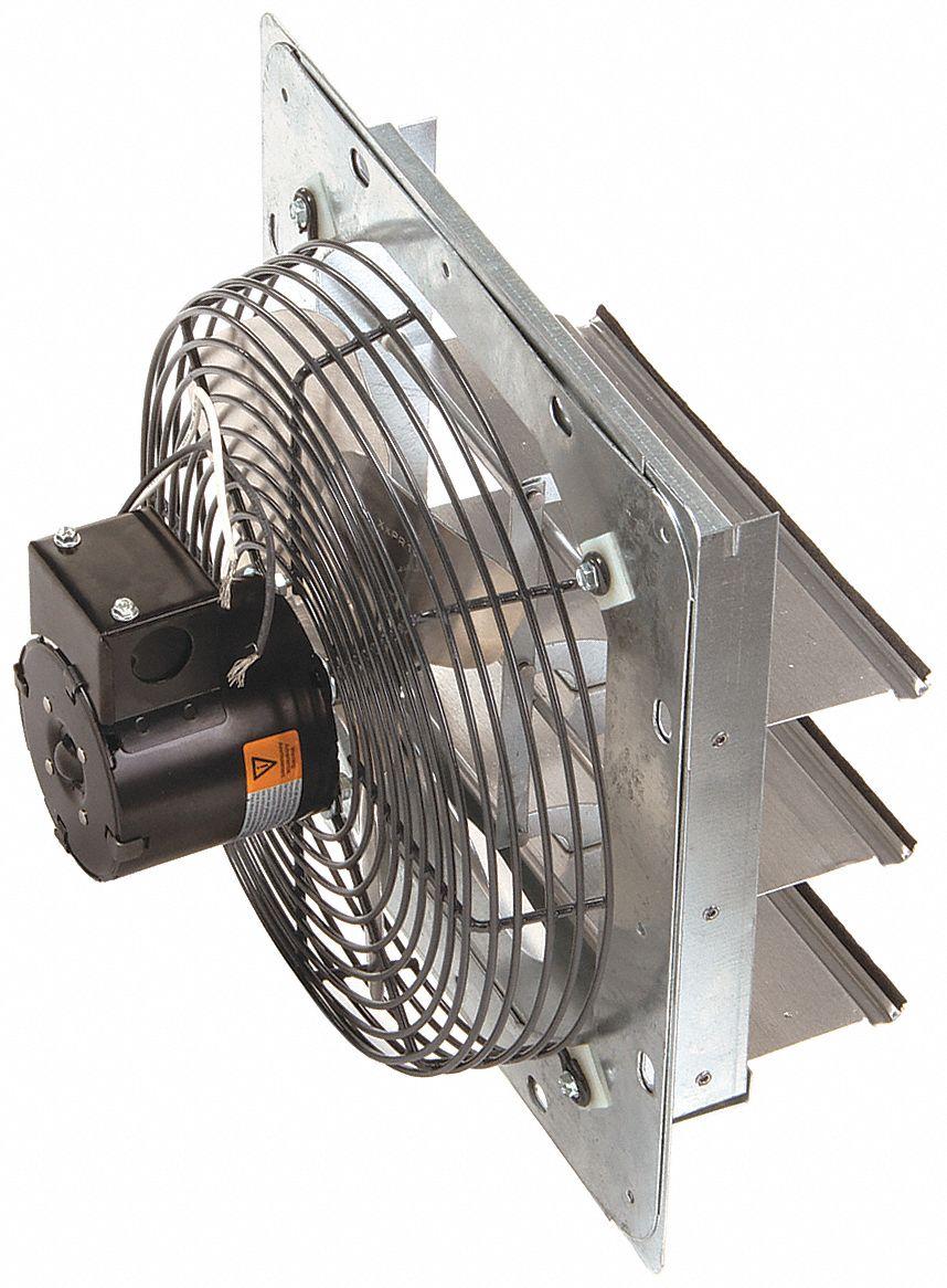 DAYTON Exhaust Fan10 In115V125hp1550rpm 1HLA11HLA1 Grainger