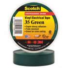Cinta Eléctrica Scotch Verde 3/4 PVC