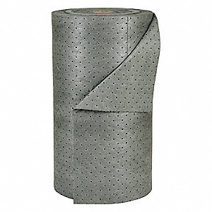 Heavy, 3 Ply, Dimpled Absorbent Roll, Fluids Absorbed: Universal / Maintenance, 150 ft. Length