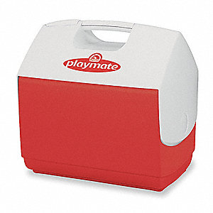 16 qt. Red Personal Cooler
