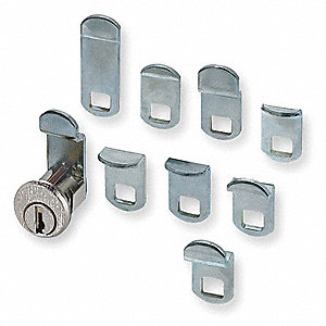 Pin Tumbler Mailbox Lock,Nickel