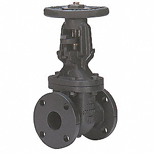 GATE VALVE,6 IN FLANGED,CAST IRON
