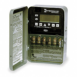 Electronic Timer, 30 Amps, 120 to 277VAC Voltage, Operation Mode: Astro 7 Days, Number of Channels: