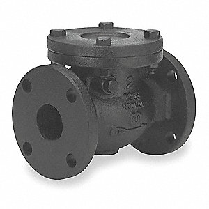 "3"" Swing Check Valve, Cast Iron, Flanged Connection Type"
