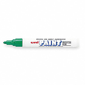 Paint Marker,Green,PK12