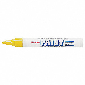 Paint Marker,Yellow,PK12